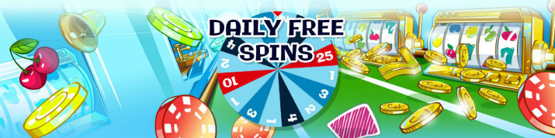 Daily Free Spins promotions