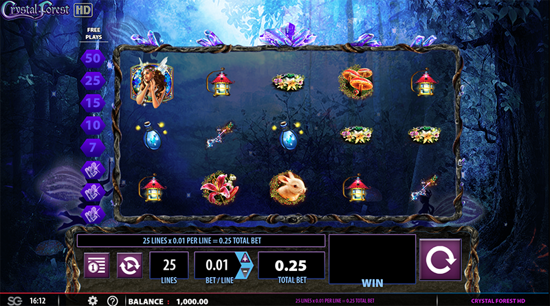 Crystal Forest Slot Game