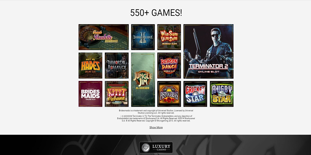 Luxury Casino Games