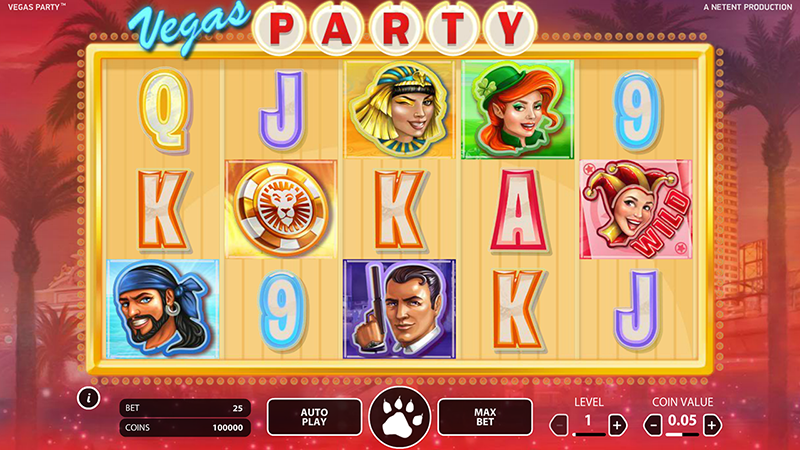 Vegas Party Slot Game