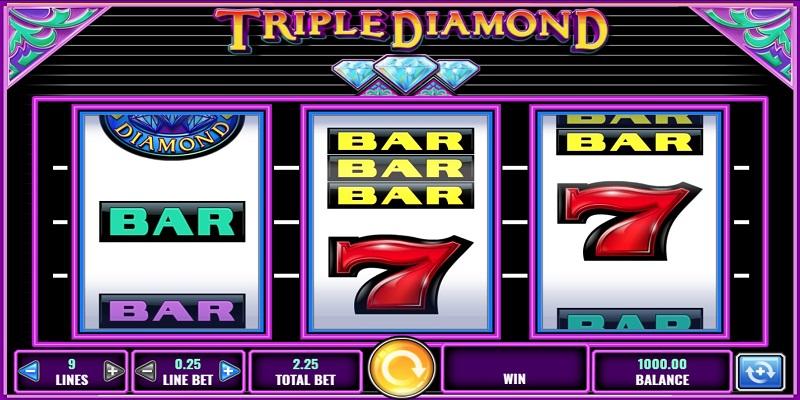 Free Casino Games Triple Diamonds
